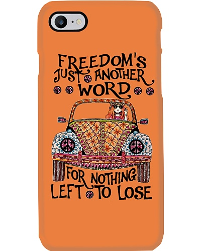 Freedom Hippie Phone case YNA4