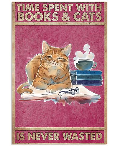 Time With Cats Vertical Poster YSC6