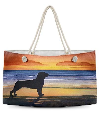 Rottweiler At Sunset H22N8