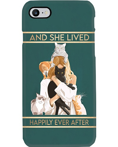 Cat Happily Ever After Phone Case YVY9