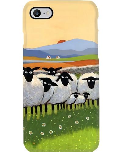 Flock of Sheep Phone Case QE25