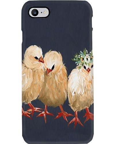 Chicken Chick Trio Phone Case H25P3