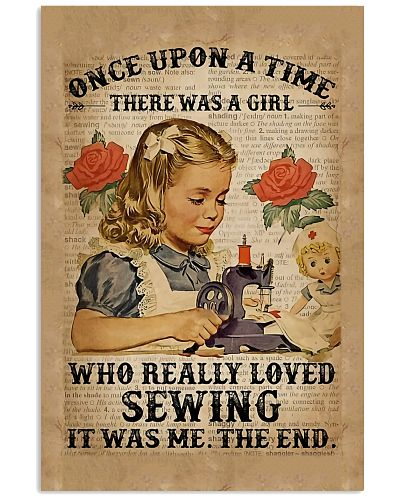 Sewing Lovers Vertical Poster YPA9