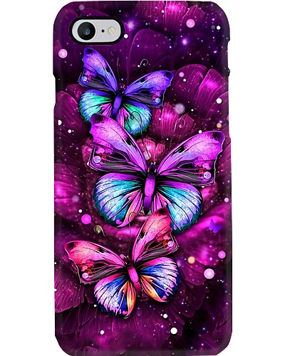 Purple Butterfly Phone Case YPM0