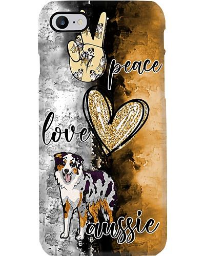Peace Love Aussie Phone Case YCT8