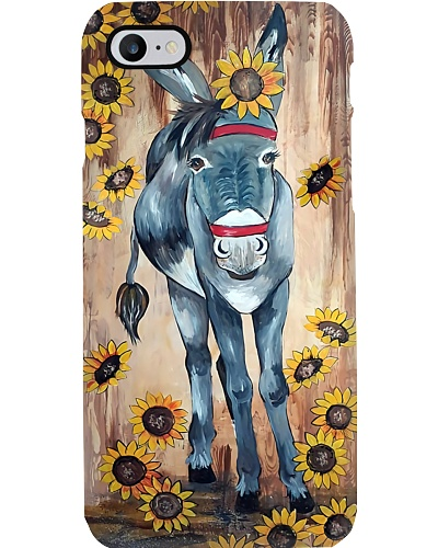 Donkey n Sunflowers Phone Case QE25