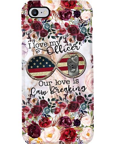 Love My Officer Phone Case HT10