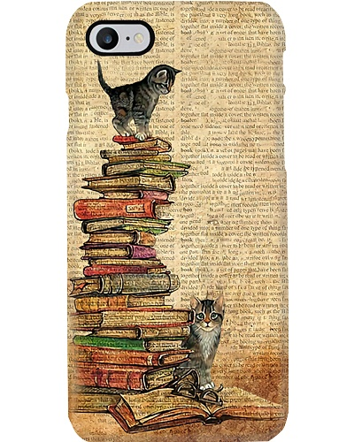 Books And Cats Phone Case YHT5
