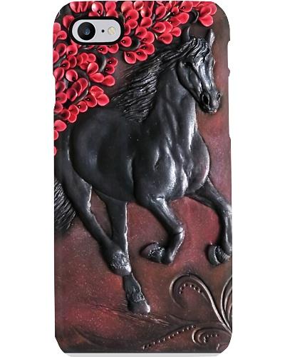 Black Horse Phone Case YHT7