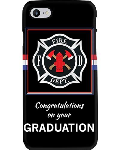 Firefighter Graduation Gift Phone Case Q09T2