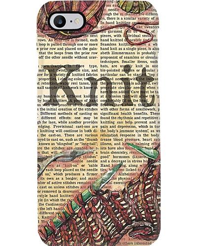 Knitting Story Phone Case H25P3