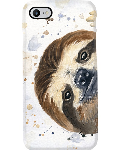 Sloth Painting Phone Case LA99