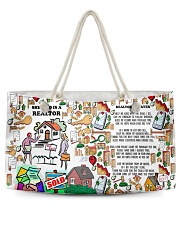 She Who Is A Realtor H22N8 Weekender Tote front