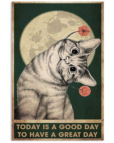 Cat Today Vertical Poster YHH5