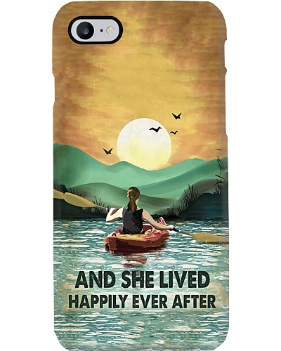 Kayak She Lived Happy Ever After Phone Case YHN2