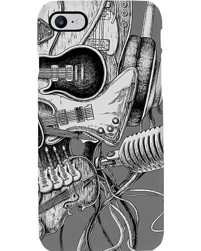 Music Instrument Skull Phone Case LA99