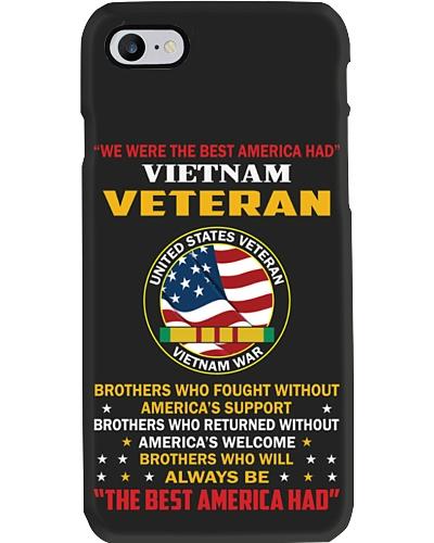 Vietnam Veteran Phone Case HU29