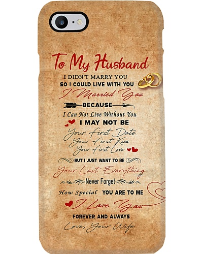To My Husband Phone Case YMT3