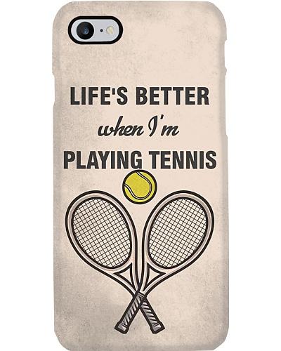 Tennis - Life's Better Phone Case HU29