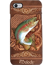 Leather Trout Personalize Phone Case YHT7 Phone Case i-phone-8-case