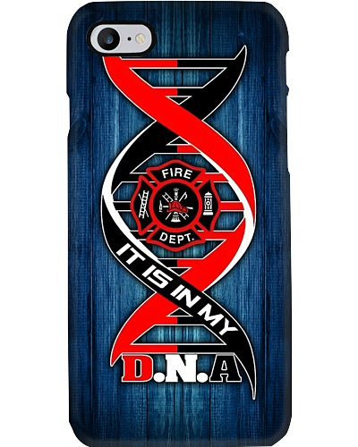 Firefighter DNA Phone Case QE25