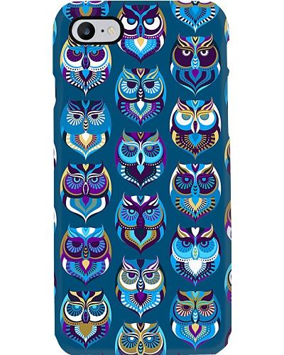 Owl Pattern Phone Case CH03