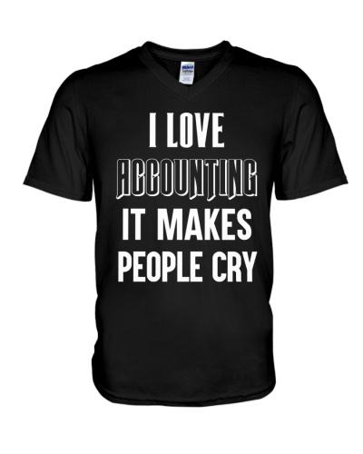 Accountant Cry T Shirt PH78