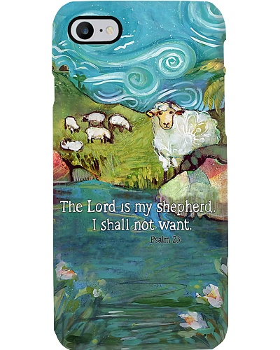 The Lord Is My Shepherd Phone Case LA99