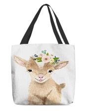 Goat Baby N31D1 All-over Tote back