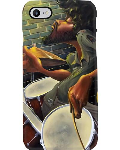 Drum Man Phone Case QE25