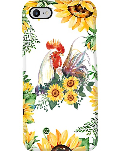 Sunflower Rooster Phone Case D19T9