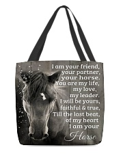 I Am Your Friend Horse Gift H22N8 All-over Tote back