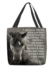 I Am Your Friend Horse Gift H22N8 All-over Tote front