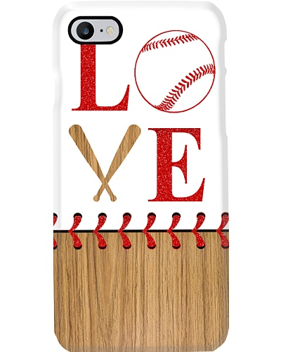 I Love Baseball  Phone Case YHG6