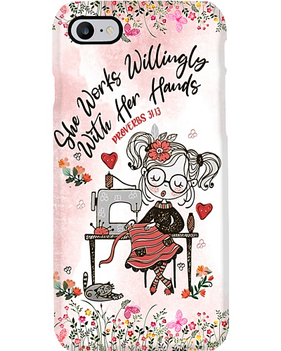 Sewing Proverbs 3113 Phone Case YBE9