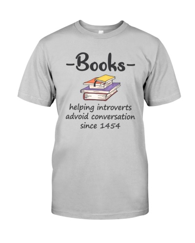 Books Helping Introverts Avoid Conversation PH01