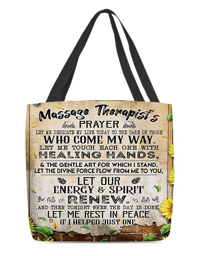 Massage Therapist Prayer H22N8