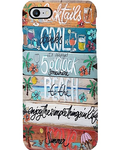 To The Beach Phone Case YSC6