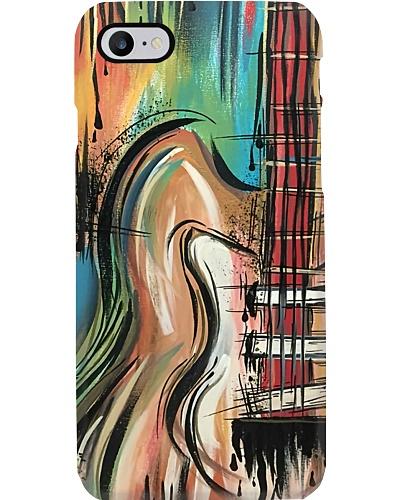 Unique Painting Guitar Phone Case LA99