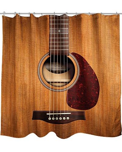 Guitar Shower Curtain CH03