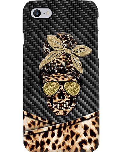 Skull Lady Phone Case CH03