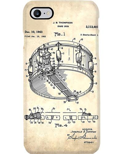 Drum Blueprint Phone Case CH03