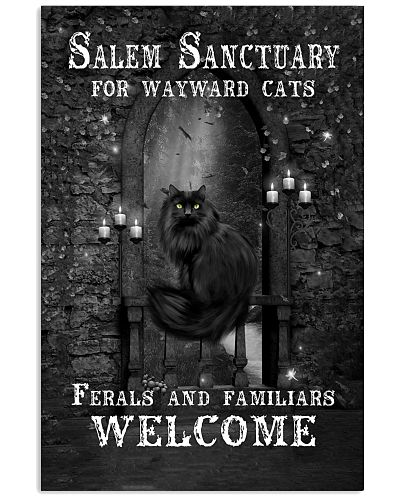 Cat Sanctuary Vertical Poster YHD8