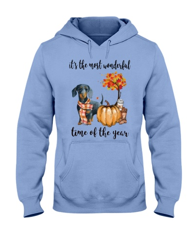 Dachsund most wonderful time of the year PH88