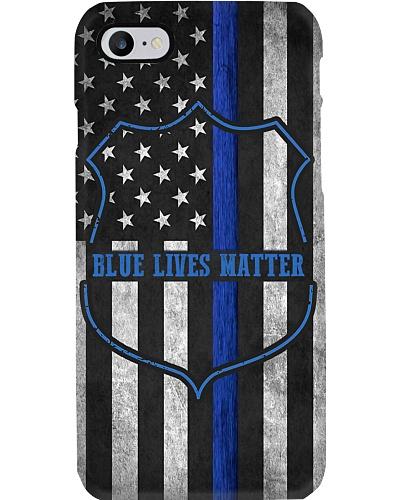 Blue Lives Matter Phone Case QE25