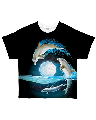 Moonlight Dancing Dolphins CH03