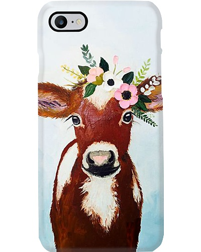 Lovely Cow Phone Case M09T9