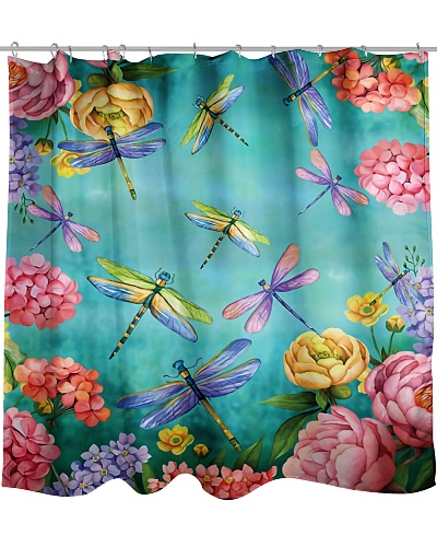Dragonfly Heaven Shower Curtain YTP0
