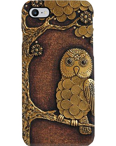 Gold Owl Phone Case YNN5