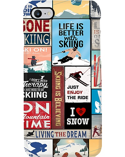 Life Is Better With Skiing Phone Case YLD9